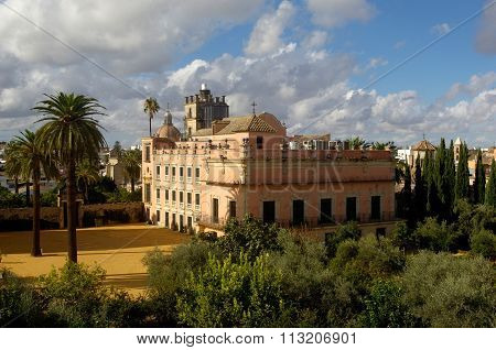 The Alcazar Of  Jerez De La Frontera, Andalucia