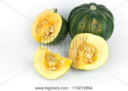 Acorn Squash, Pumpkin From Mexico
