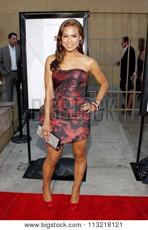 LOS ANGELES, CALIFORNIA - July 19, 2012. Toni Trucks at the Los Angeles premiere of