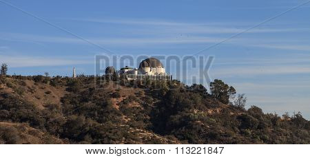 Los Angeles skyline from the Griffith Observatory