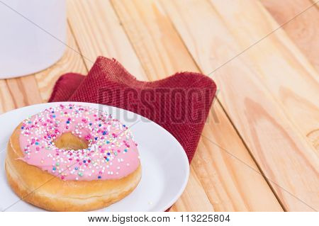 Pink Donuts
