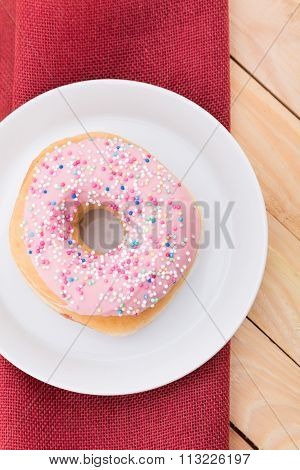Donuts in pink