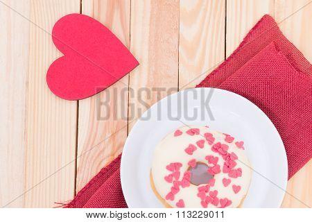 Heart Donut
