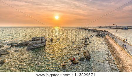 Sunset pier, Phu Quoc, Vietnam