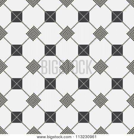 Seamless Pattern - Plaid Gray