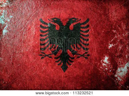 Albania Grunge