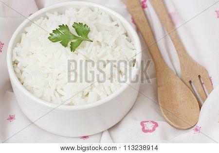 bowl full of rice