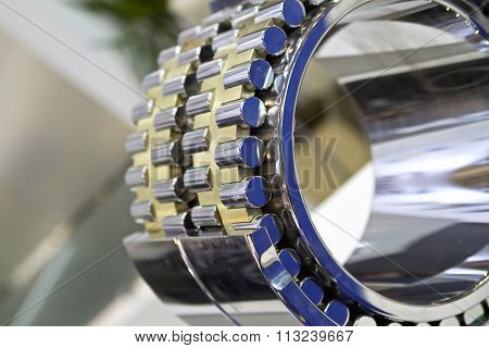Physical Geometry Section Of The Roller Bearing