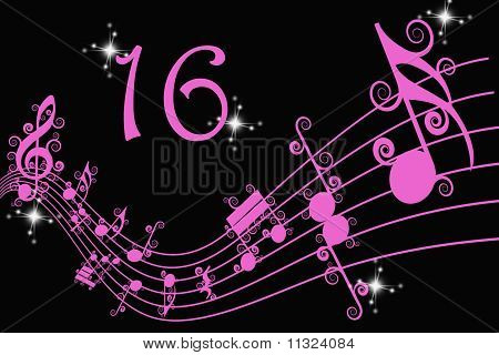 Sixteen and Music