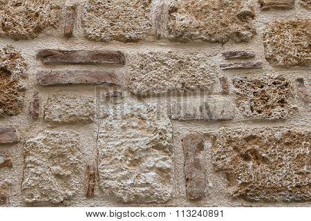 The Texture Of Tuff Stone