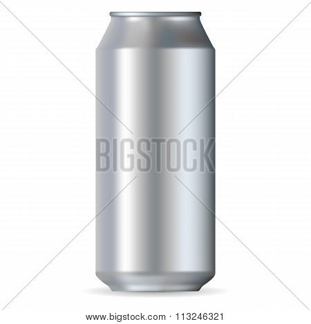 Realistic aluminum can