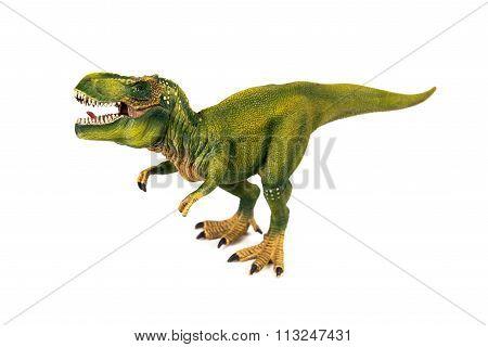 Tyrannosaur dinosaur plastic model