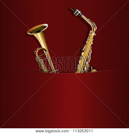 Saxophone And Trumpet In Your Pocket