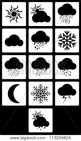 Set Weather Icons.vector