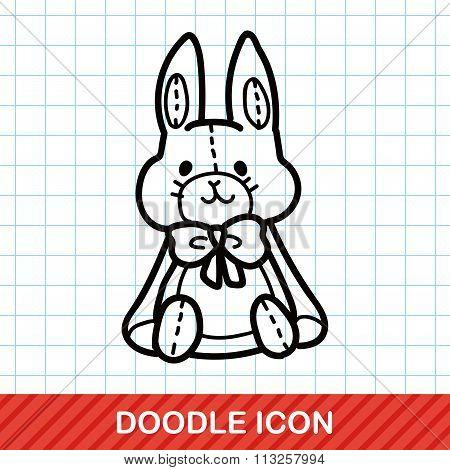 Baby Rabbit Doodle