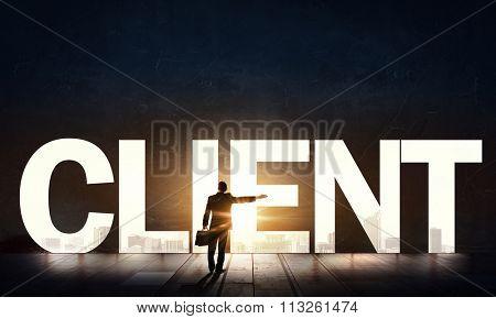 Client solicitation concept