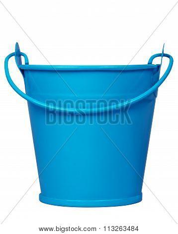 Empty Bucket - Blue