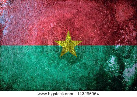 Burkina Faso Grunge
