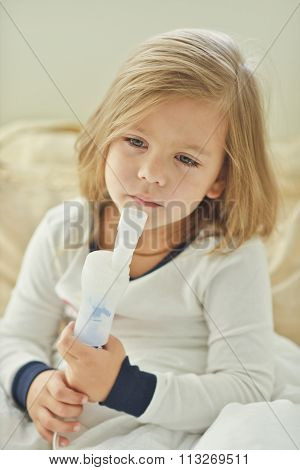 Girl With Cough