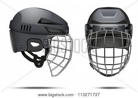 Classic Goalkeeper Hockey Helmet