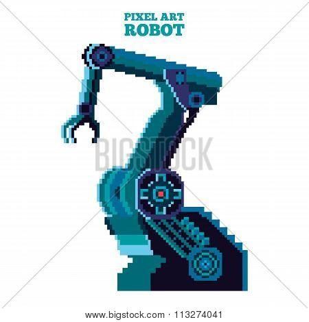 pixel robot manipulator