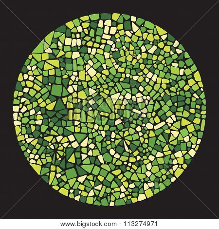 Mosaic design element