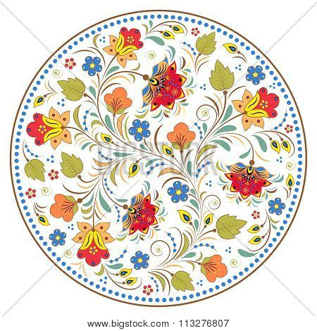 traditional russian pattern