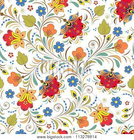 russian floral ornament