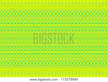 Seamless pattern yellow green turquoise blue