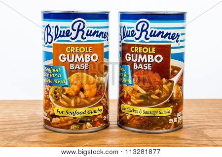 Canned Creole Gumbo Base