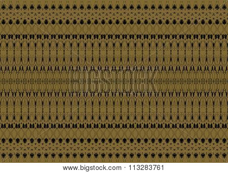 Seamless pattern gold black