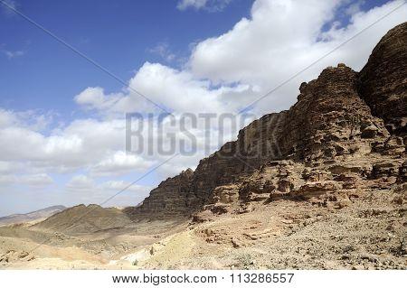 Desert Mountain Range, Jordan