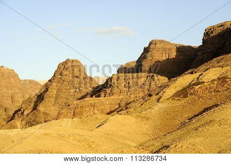 Desert Mountain Landscape, Jordan