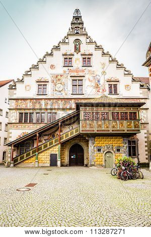 Old Town Hall-lindau,lake Constance,germany