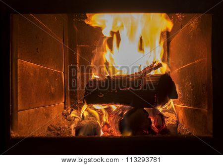 Hot Background About The Comfort And Warmth