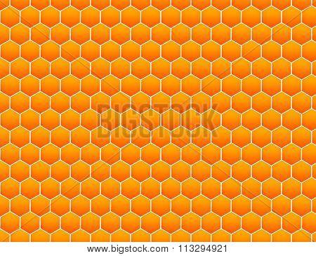 Honey comb pattern.