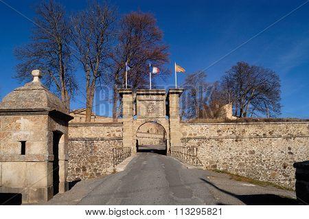 Fort Of Mont-louis,pyrénées-orientales,france