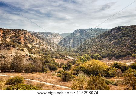 Beautiful Mountain View Of Cyprus Near Pafos