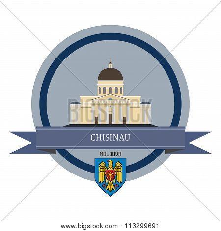 Chisinau Ribbon Banner