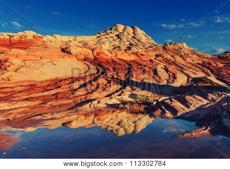 Vermilion Cliffs National Monument Landscapes at sunrise