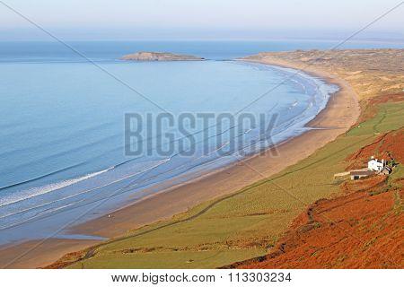 Rhossili Beach