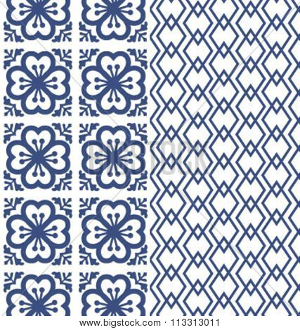 Tiles pattern background geometric style. classic and elegant vector file. For fashion, prints,textile, branding projects, craft, website design and more...