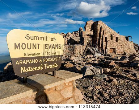 Mt. Evans summit, Colorado