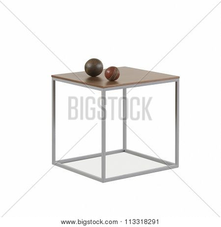 NEW FURNITURE LINE , MODERN DESIGN,  STRAIGHT LINES , MATERIALS : WOOD, METAL. ITEMS: SQUARE BOX TABLE