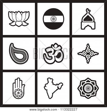 assembly stylish black and white icons India
