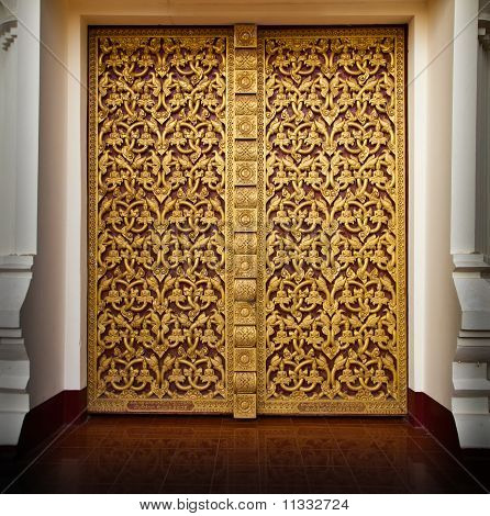 Vine Pattern Door