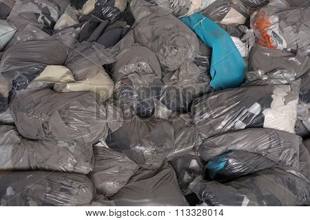Abstract Garbage Bags