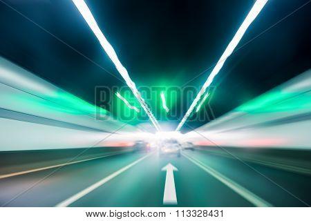 Tunnel Inside Scene