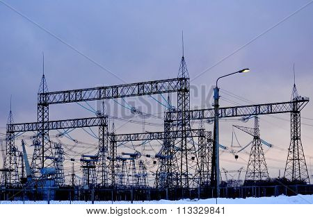 Electric substations Siberia