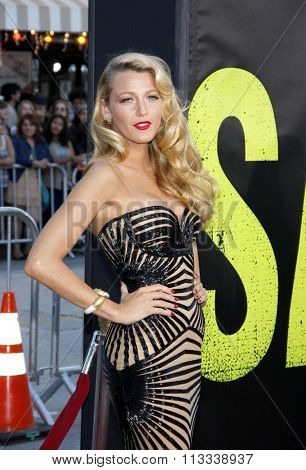 Blake Lively at the Los Angeles premiere of